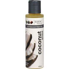 EDEN Body Works All Natural Coconut Shea Hair Oil - 4oz