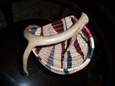another view of the Antler Basket