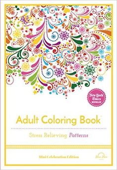 New mini adult coloring books from our friends at Blue Star Coloring - perfect stress relief on the go!  Now available for purchase at Amazon.  Would make a great stocking stuffer!