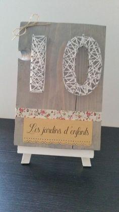 Numéros de table DIY
