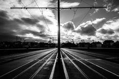 by (c) Dominic Kummer Railroad Tracks, Photography, Photograph, Fotografie, Photoshoot, Fotografia, Train Tracks