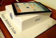 All edible iPad cake