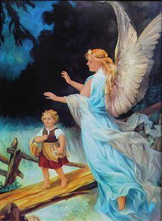 Znalezione obrazy dla zapytania anioł stróż