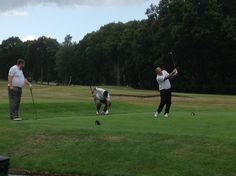 Players at Golf Day to support Tackle Africa charity, 06 Aug 2014