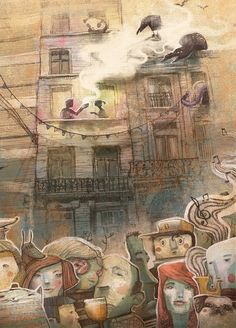 An Illustrated Book by Dulk Wins 2nd Annual Brussels in Shorts Graphic Short Story Competition illustration Belgium