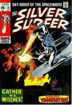 Sky - Surfer - Silver - Spaceways - Ice - John Buscema
