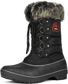 Women's Warm Faux Fur Lined Mid Calf Winter Snow Boots Warm Snow Boots, Winter Boots, Spring Boots, Cold Weather Boots, Workout Shoes, Womens Shoes Wedges, Comfortable Shoes, Calves, Pairs