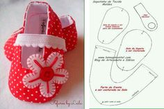 Make Free Patterns 18 Inch Doll Shoes – Bing images… Doll Shoe Patterns, Baby Shoes Pattern, Baby Patterns, Baby Boy Shoes, Baby Boots, Girls Shoes, Girl Doll Clothes, Girl Dolls, Baby Shoes Tutorial