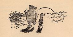 my vintage book collection (in blog form).: Winnie the Pooh - illustrated by Ernest H. Shepard
