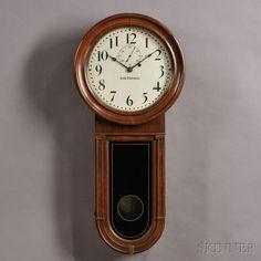 "Seth Thomas Regulator No. 1 ""Keyhole"" Wall Clock"