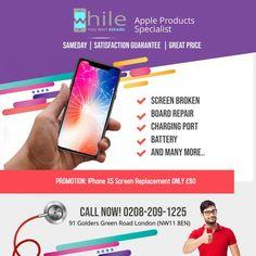 Apple iPhone Screen Repair/Replacement in London at Best Price - While You Wait Repairs