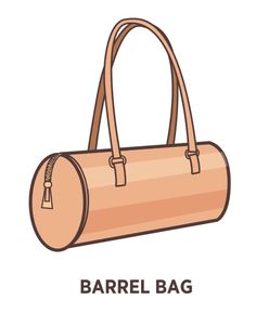 A purse is not just a purse. There are a ridiculous number of different types of handbags. Check out the 25 different types here. Types Of Purses, Types Of Handbags, Types Of Bag, Large Handbags, Barrel Bag, Frame Bag, Bowling Bags, Quilted Bag, Pouch Bag