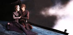 Star Wars Clone Wars Padme Amidala and Anakin Skywalker gif