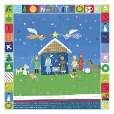 Peace On Earth - Christian Nativity Advent Calendar (on sale in July!) Great teacher gifts too.