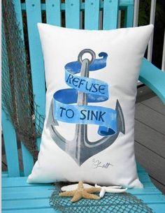 Love this pillow...love this saying!