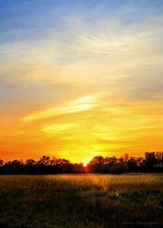 Sunset in Pavlovka by Marina Vinogradova on 500px