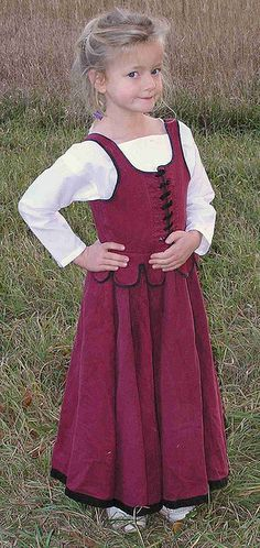 A great photostream of garb a family has. Talks about making them out of adult sized pants, shirts, and dresses.
