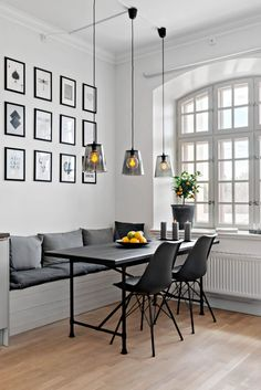Innenarchitektur Schlafzimmer 30 Gorgeous Scandinavian Interior Design You Should See Bringing Outdo Dining Decor, Dining Room Design, Kitchen Dining, Scandinavian Interior Design, Dining Room Inspiration, Small Dining, Style At Home, Home Fashion, Living Spaces