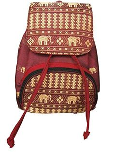 Small Red Backpack Elephant Handmade School,travel,girls,mini Computer,cosm   - Click image twice for more info - See a larger selection of red  backpacks at http://kidsbackpackstore.com/product-category/red-backpacks/. - kids, juniors, back to school, kids fashion ideas, teens fashion ideas, school supplies, backpack, bag , teenagers girls , gift ideas, red