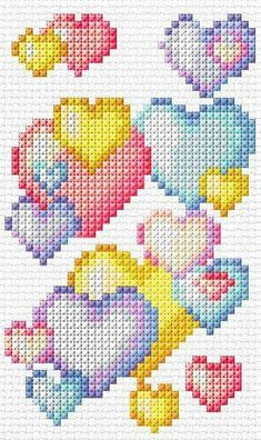 Thrilling Designing Your Own Cross Stitch Embroidery Patterns Ideas. Exhilarating Designing Your Own Cross Stitch Embroidery Patterns Ideas. Cross Stitch Bookmarks, Cross Stitch Heart, Cross Stitch Cards, Simple Cross Stitch, Cross Stitch Borders, Cross Stitch Alphabet, Cross Stitch Designs, Cross Stitching, Cross Stitch Patterns Free Easy