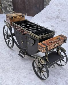 Grill Oven, Barbecue Grill, Grilling, Welding Art, Welding Projects, Bbq Equipment, Blacksmith Tools, Homemade Tools, Iron Decor