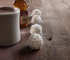 Honey Coconut Snowballs