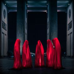 faceless by markus studtmann     red and black