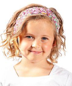 Look at this #zulilyfind! Light Blue & Purple Floral Kellie Headband #zulilyfinds