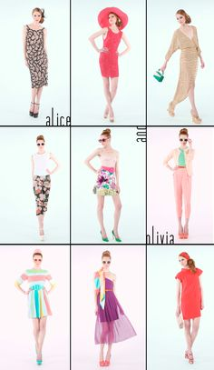 Stacey Bendet's S/S 12 collection for Alice + Olivia