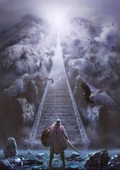 Valhalla (looks like the stairway to heaven???)