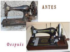 Máquina de coser restaurada por silve71