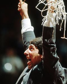 North Carolina State Coach Jim Valvano, 1983 NCAA National Championship Picture at NC State Wolfpack Photos