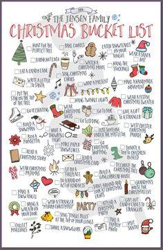 40 Activities to Cross Off Your Winter Bucket List Christmas Mood, Merry Little Christmas, Family Christmas, All Things Christmas, Holiday Fun, Christmas To Do List, Christmas Activities, Christmas Traditions, Winter Activities