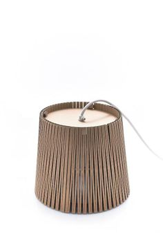 DIY: Cardboard lamp inspiration. This is the winner of Graypants 2013 lamp proposal by Jesper Jelling