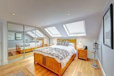 mansard loft conversion wandsworth modern style bedroom by homify modern Loft Conversion Stairs, Loft Conversion Design, Loft Conversions, Planning Permission, Dream Bathrooms, Loft Bathroom, Fulham, Built In Wardrobe, Loft Spaces