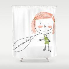 la mia vetrina su society6 :-) Gabrielle Shower Curtain by gab_77 - $68.00