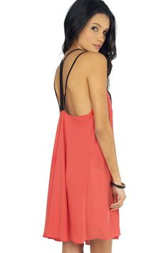 Double Trouble Strappy Dress $36 at www.tobi.com