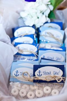 New Baby Shower Party Favors Boy Nautical Ideas Sailor Baby Showers, Anchor Baby Showers, Beach Baby Showers, Nautical Bridal Showers, Baby Shower Favors, Shower Party, Baby Shower Parties, Baby Shower Themes, Baby Boy Shower