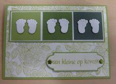gemaakt door Marleen Broeders Marianne Design, Baby Cards, Babys, Cricut, Frame, Diy, Cards, Birthday, Babies