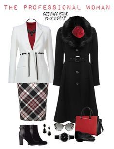 The Pro by briaryzombie on Polyvore featuring polyvore fashion style Rumour London M&Co Altuzarra Alexander McQueen Jigsaw MICHAEL Michael Kors Olivia Burton Kenneth Jay Lane Wallis Tory Burch Ted Baker clothing
