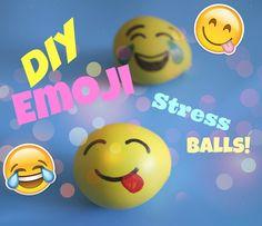 How to make an emoji stress ball - emoji craft — Sew Kidding Crafts For Teens To Make, Diy For Teens, Kids Crafts, Emoji Craft, Market Day Ideas, World Emoji Day, Easy Homemade Gifts, Yellow Balloons, Holiday Club