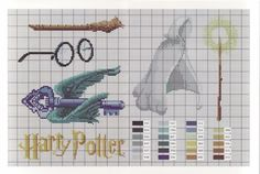 HP - Various items from The Sourcerer's Stone.