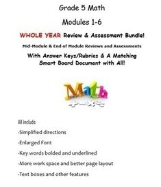 Grade 5, WHOLE YEAR Modules 1-6, Mid & End of Mod Reviews Paragraph Writing Worksheets, Math Writing, Math Key Words, Blank Lesson Plan Template, Microsoft Word Document, Eureka Math, Higher Order Thinking, Math Vocabulary, Math Strategies