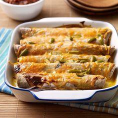 Cheesy Chicken Enchiladas | Weight Watchers - 8 smpts/serving