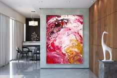 Items similar to Large Modern Wall Art Painting,Large Abstract Painting on Canvas,texture painting,gold canvas painting,gallery wall art on Etsy Painting Gallery, Gallery Wall, Oversized Wall Decor, Gold Canvas, Extra Large Wall Art, Abstract Wall Art, Texture Painting, Modern Wall Art, Art Decor