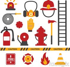 16 fire element icon vector