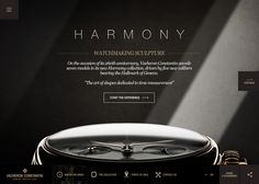 Vacheron Constantin – Harmony | CSS Website