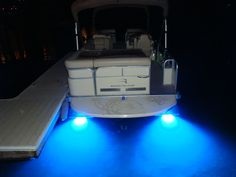 Underwater LED lights - pontoon boat accessories - Google Search