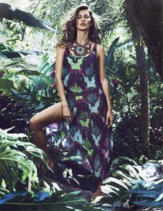 Gisele Bündchen - Lachlan Bailey Photoshoot for H&M (Swimwear) Campaign S/S 2014