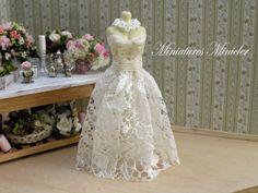 Miniature Dress by :: Doplňky pro panenky a sběratele